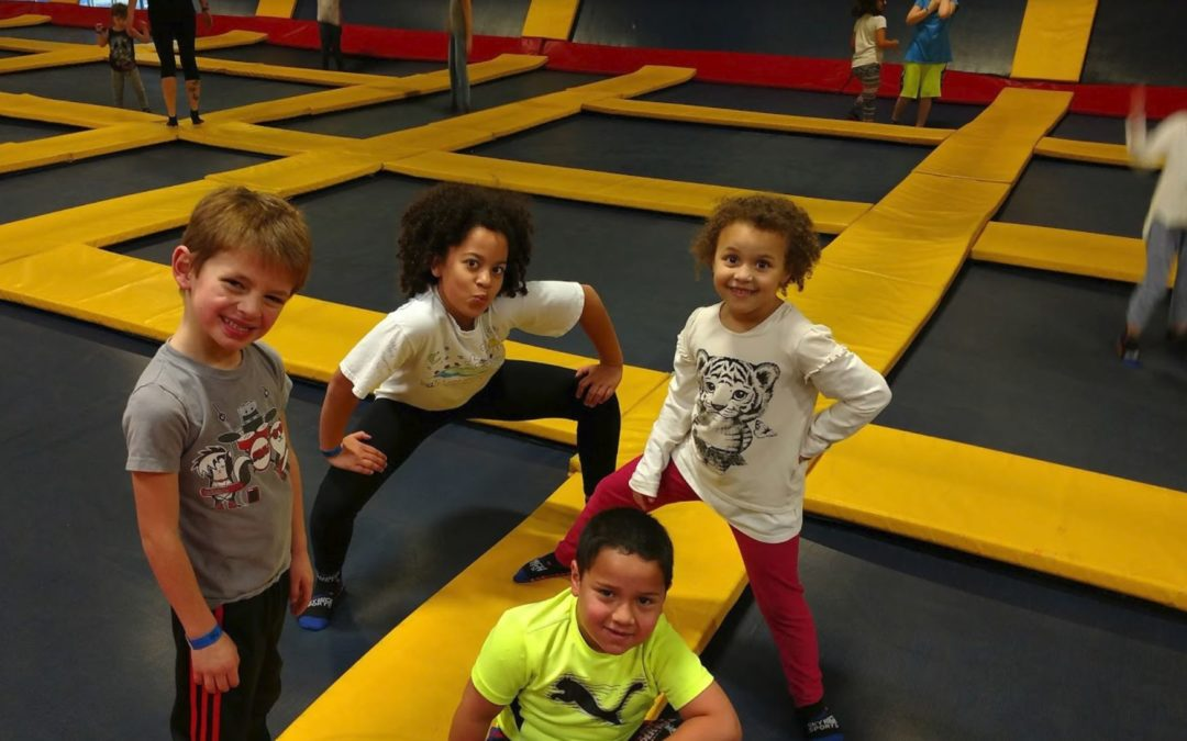 FUN at Sky High Sports Trampolines!!!
